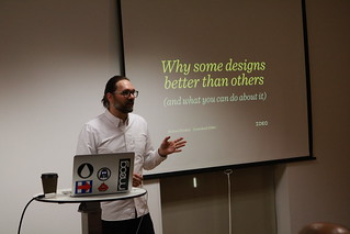 15 DECEMBER 2016 - WHY ARE SOME DESIGNS BETTER THAN OTHERS, AND WHAT CAN YOU DO ABOUT IT? (THE TALK)