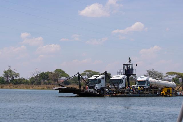 Kazungula Ferry