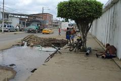 Reparación de tubería de agua