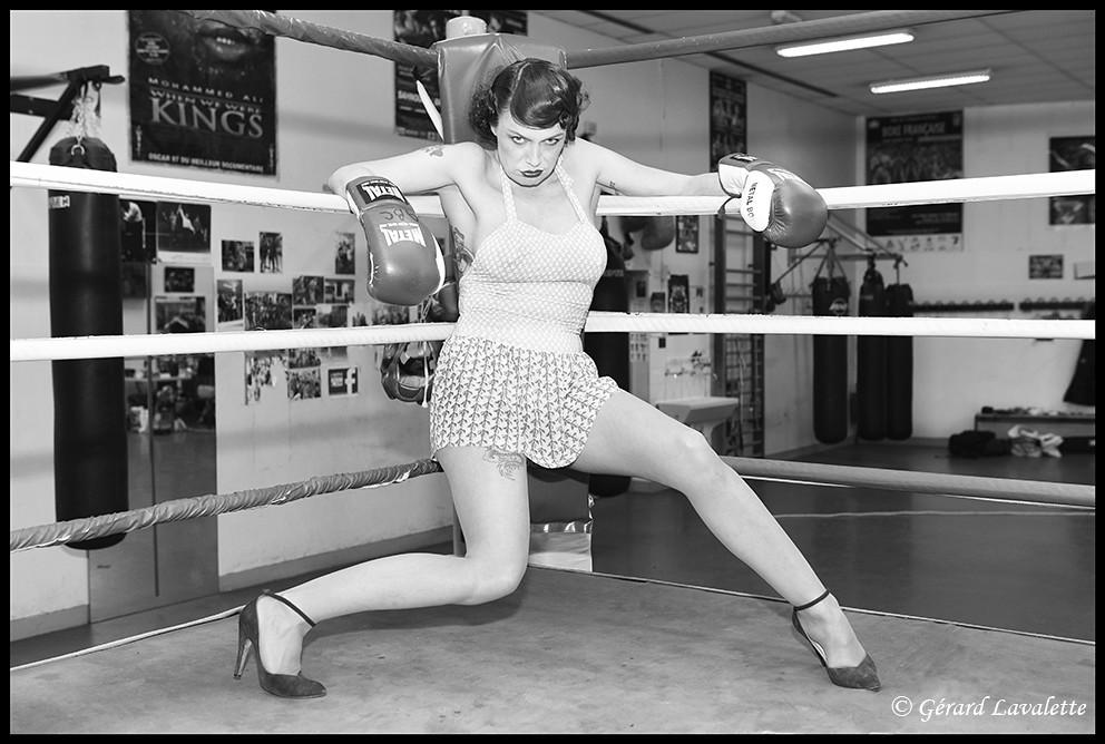 Boxeuse Sexy boxeuse sexy. | tous droits réservés © gérard lavalette www.… | flickr