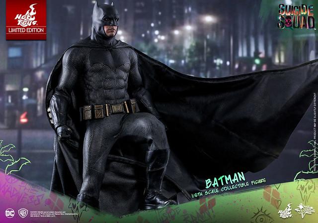 Hot Toys – MMS409 – 自殺突擊隊【蝙蝠俠】Batman 1/6 比例人偶作品