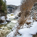 Letchworth State Park, Lower Falls by DFiveRed