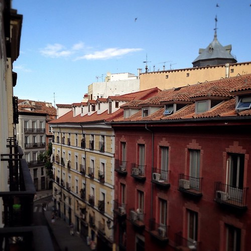 Apartment view (Madrid)