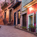 Colorful buildings of Mexico