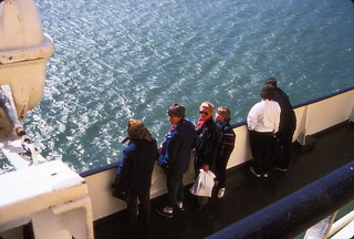 Norway to Denmark   -   M.F. Borgan   -   Oma, Jessica, Jeb & Me   -   17 April 1987