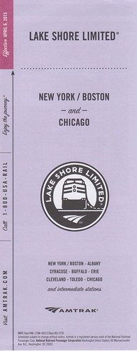 Lake Shore Limited 2015 Cover