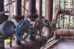 Colorful Pipe Valves