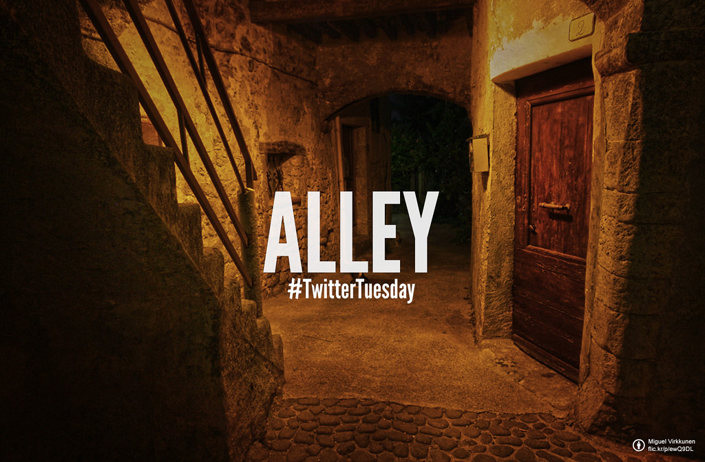Twitter Tuesday: Alley