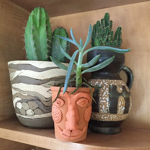 Ilovetocreate blog easy air dry clay embellished pottery for Craft porcelain air dry clay