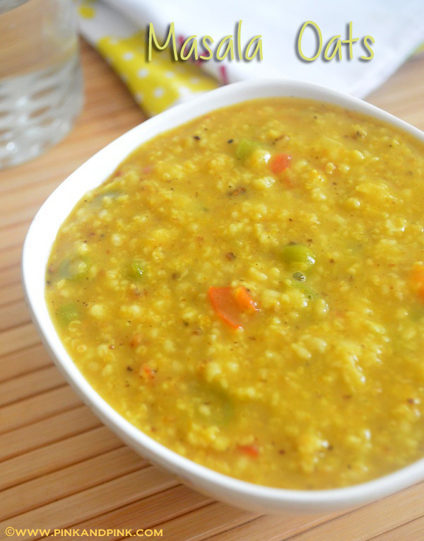 Masala Oats Recipe