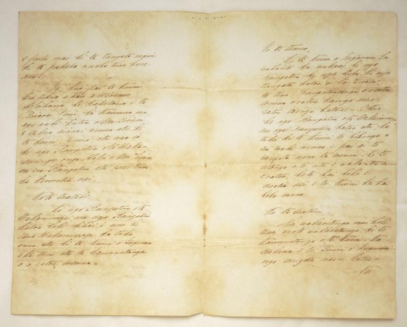 The Treaty of Waitangi in Maori