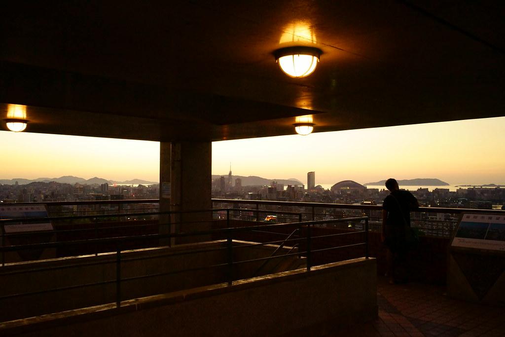 福岡市南公園西展望台