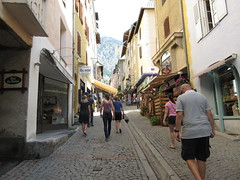 Main street of Briançon