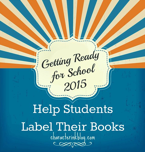 Getting Ready For School 2015 - Help Students Label Their Books