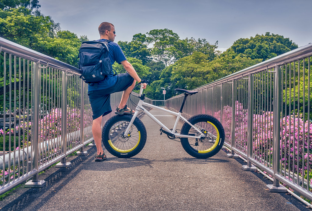 Exploring Singapore's vastness on two wheels