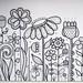 Flower doodle by dots 'n' doodles