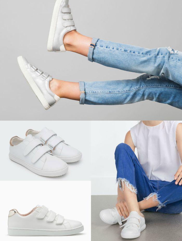 zapatillas con velcros