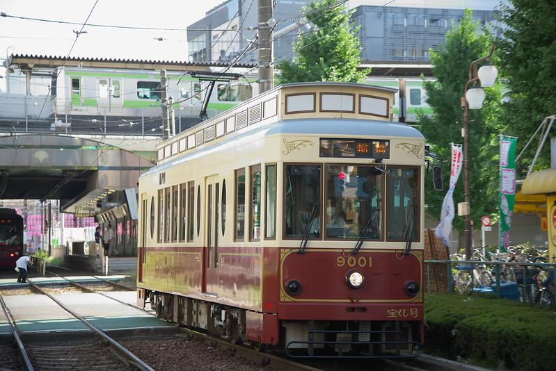 Tokyo Train Story 都電荒川線 2015年8月6日