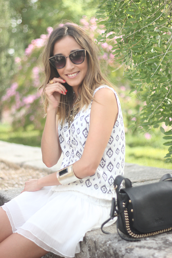 Black & White Summer Outfit Mango03