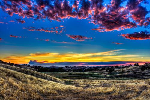 sunset foothills sierranevada amador amadorcounty