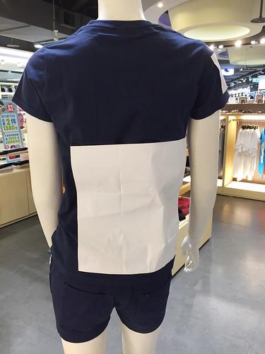 班服指南-Gimu團體服-基本網版印在班服上的照片-女MODEL-下擺