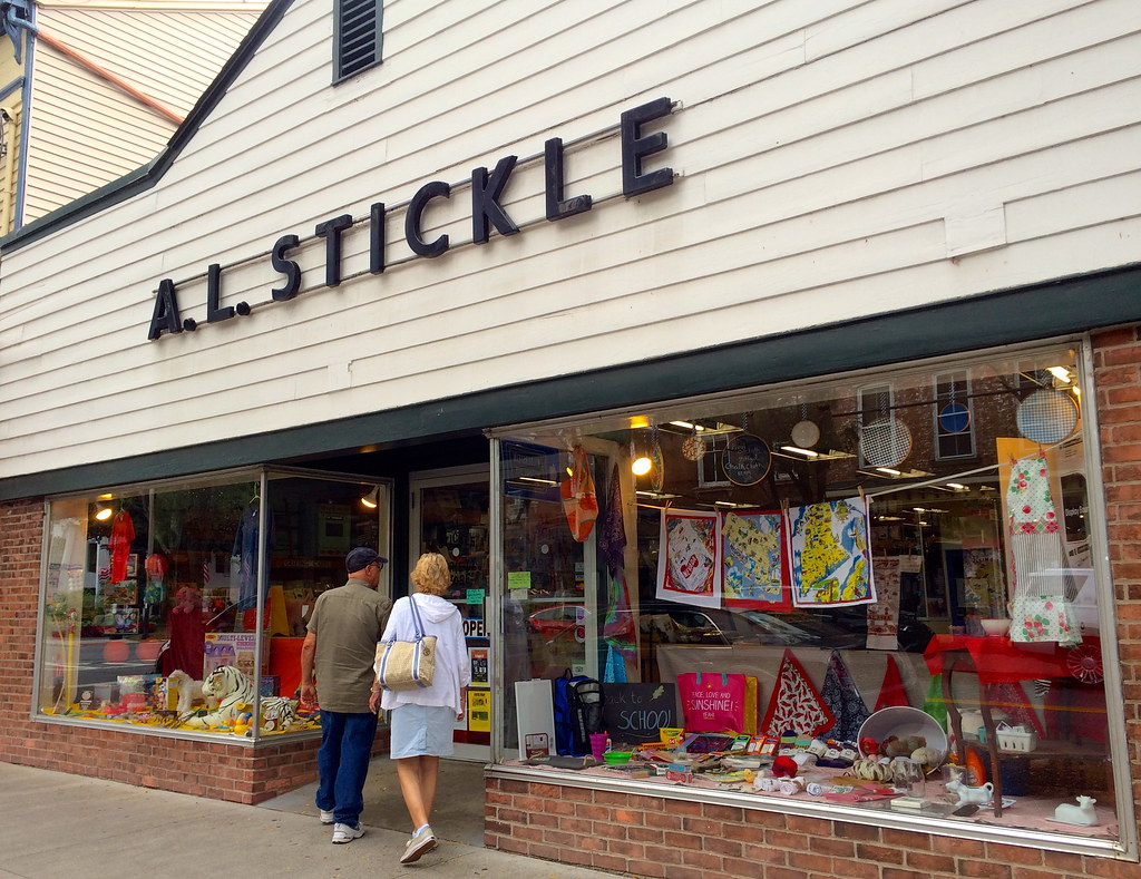 A.L. Stickle 5 & 10 Rhinebeck NY - Retro Roadmap