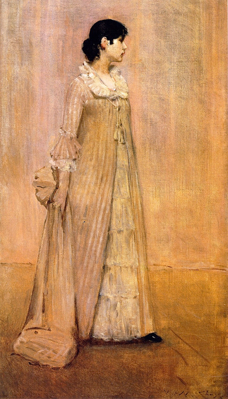Lady in Pink by William Merritt Chase, 1883