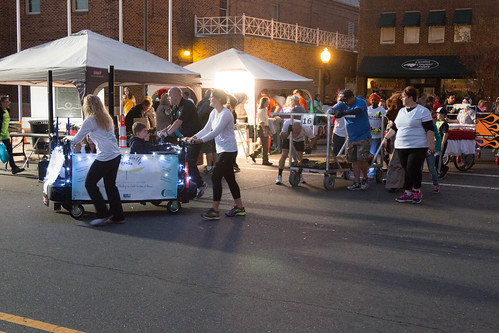Mocksville Bed Races -2016 'Twas The Night Before Bed Race!