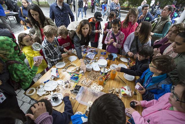 Kids Making at World Maker Faire 2016