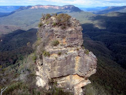 Vertical Sandstone Pinnacle