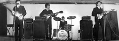The Beatles playing Belfast King's Hall in 1964