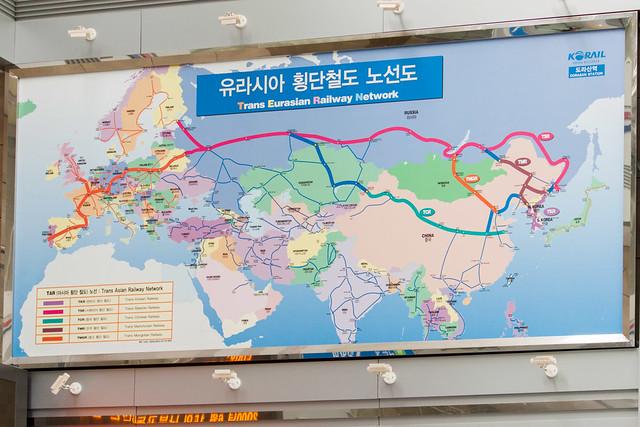Trans Eurasian Railway Network.