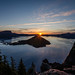 Sunrise Over Crater Lake by Brian Xavier