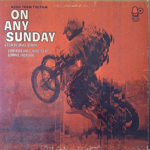 musical selection from the cabin. #onanysunday #vinyl @gandhcycles