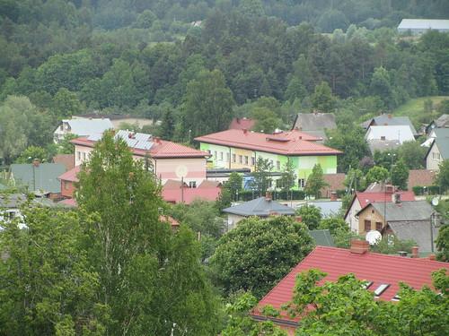 skyline latvia cesis balticstate newcesiscastle