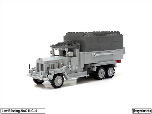 Lkw Büssing-Nag III GL 6 de Panzerbricks