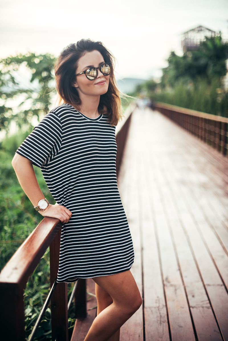 STRIPED DRESS – Annika Ollila