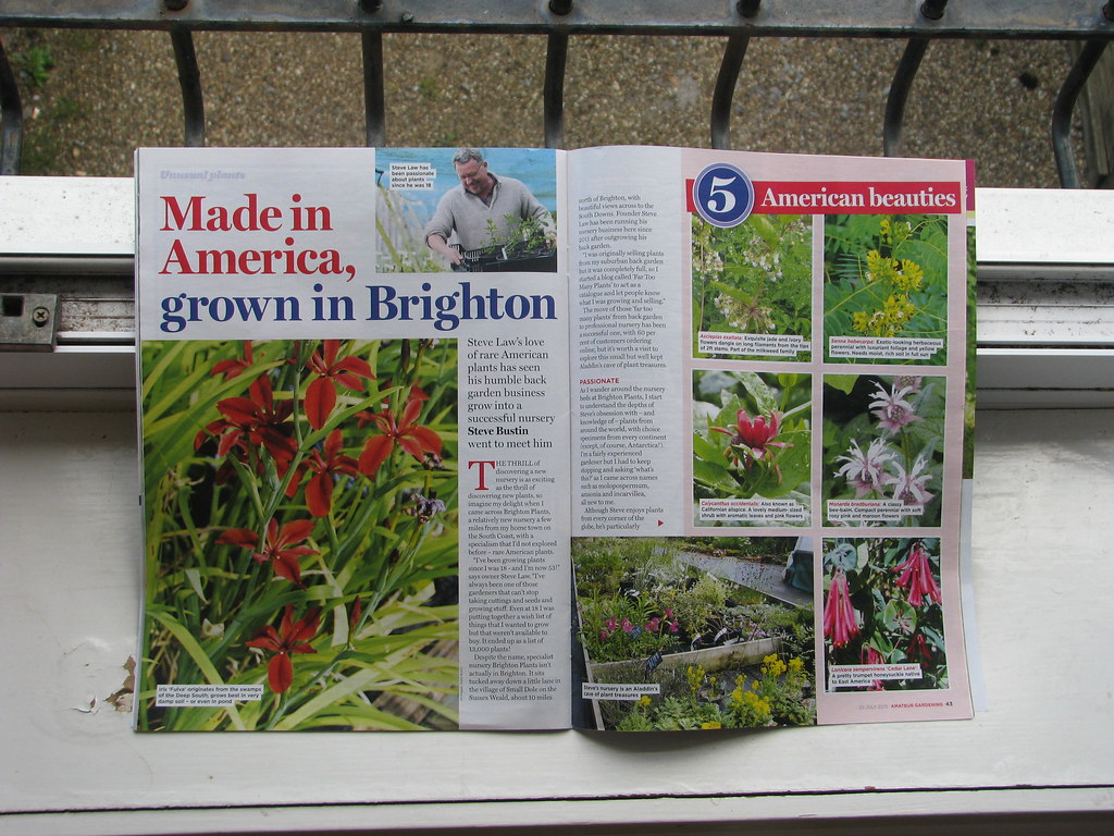 Amateur Gardening July 2015