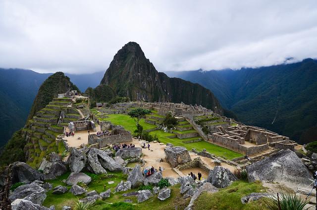 Imponente, precioso, Machu Picchu