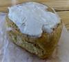 vegan cinnamon roll from Mollie Rose Baking Co.