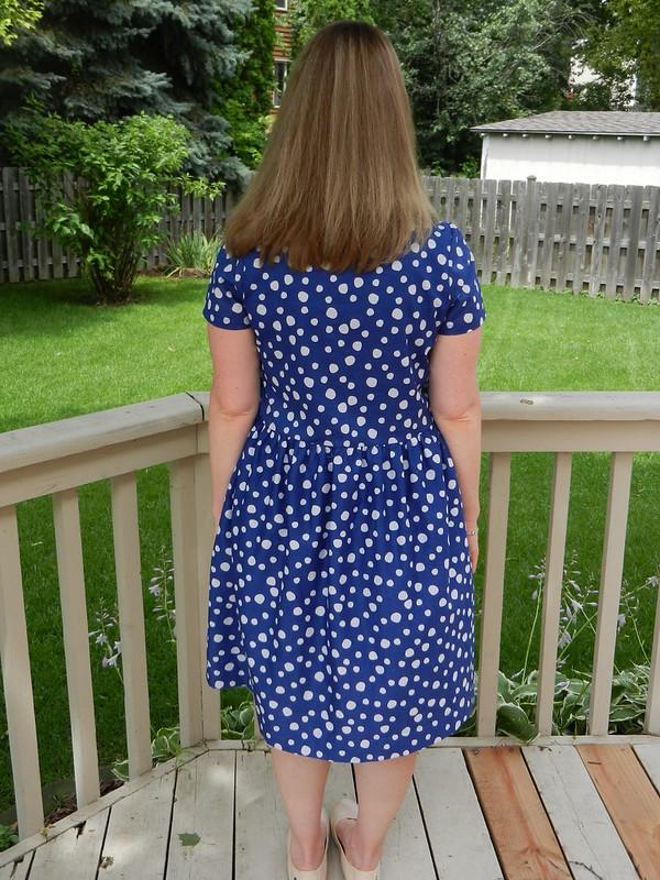 Beatrix Dress back