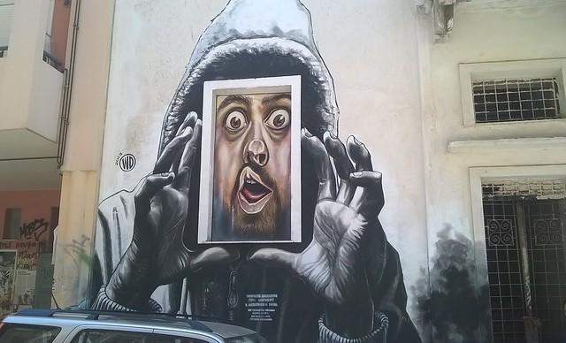 Reportage dans le quartier d'Exarchia