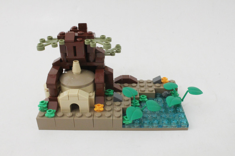 Review - LEGO Star Wars SDCC 2015 Dagobah Mini-Build από Brick Fan 19957493865_98472ba31f_c