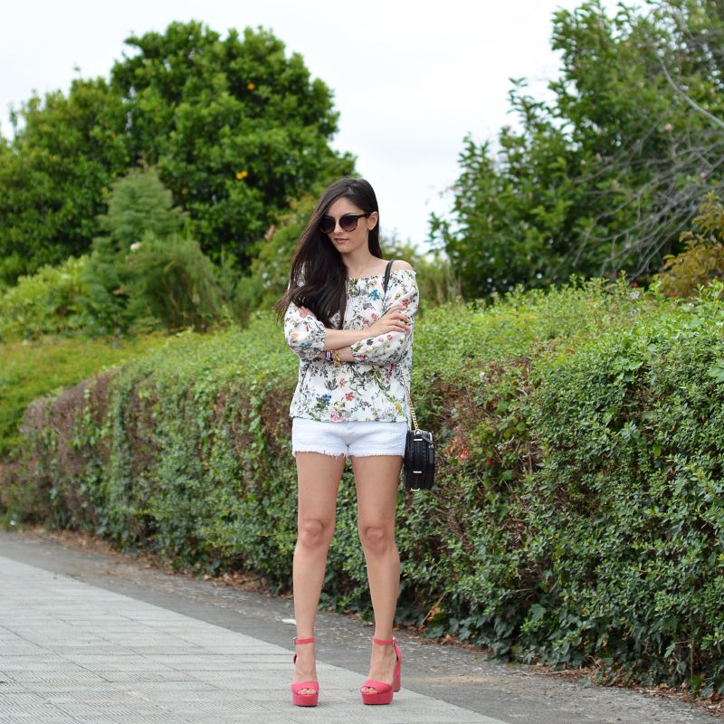 zara_ootd_outfit_off the shoulder_shorts_04