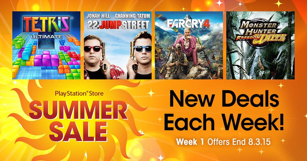 PSN: Summer Sale 2015