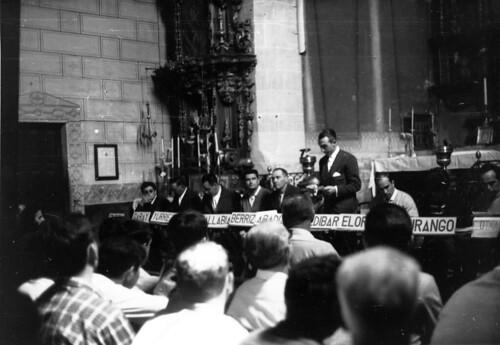 Merinalde eguna 1967-05-28 San Agustin Etxebarri