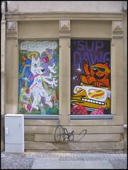 Graffiti in Luxembourg City
