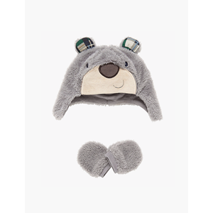 Picture of Baby Bear Hat and Mittens Pack