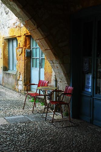 Terrasse cafe Perigord - atana studio