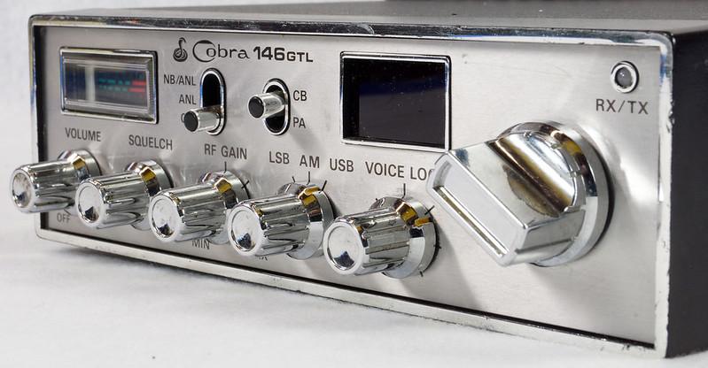 RD15026 Vintage Cobra 146 GTL AM SSB CB Radio DSC07758